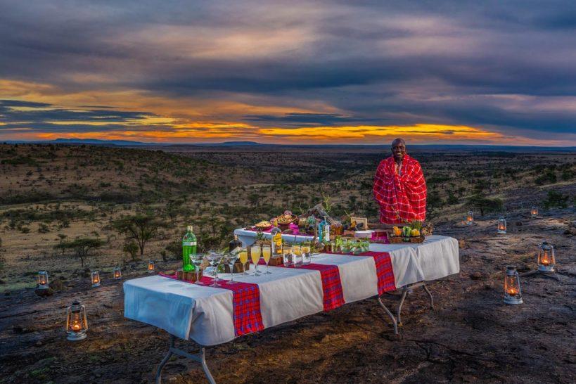 Mahali Mzuri Masai Mara sundowners