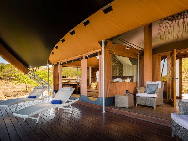 Mahali Mzuri Room Balcony