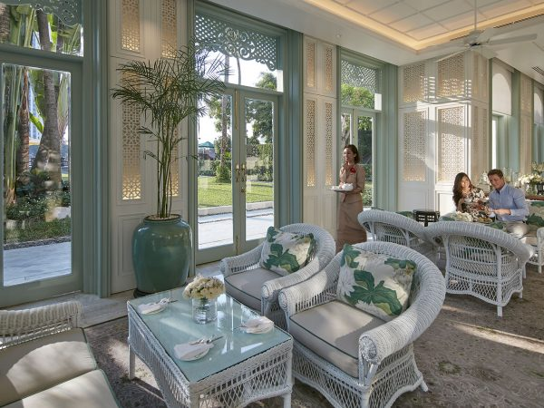 Mandarin Oriental Bangkok Authors Lounge