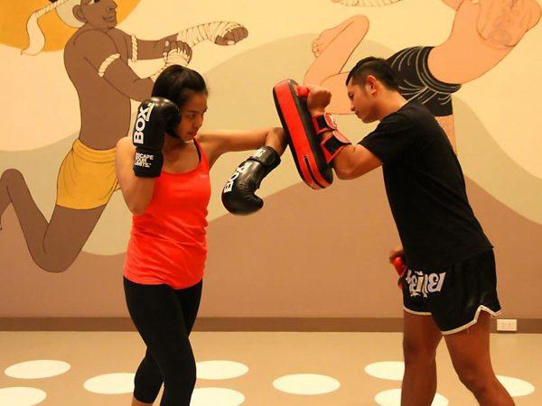 Mandarin Oriental Bangkok Boxing