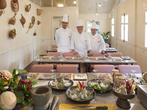 Mandarin Oriental Bangkok Cooking School