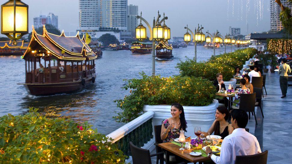 Mandarin Oriental Bangkok Riverside Terrace