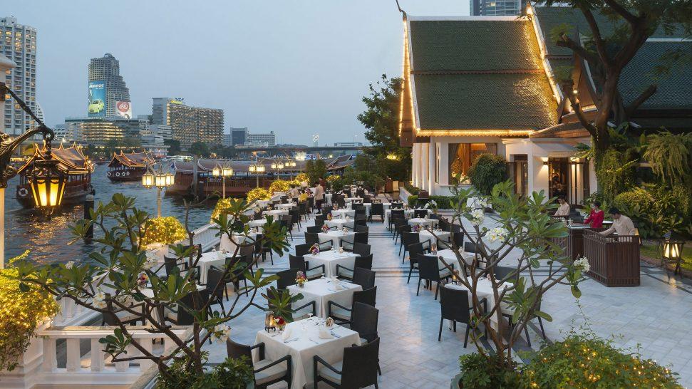 Mandarin Oriental Bangkok Terrace Rim Naam