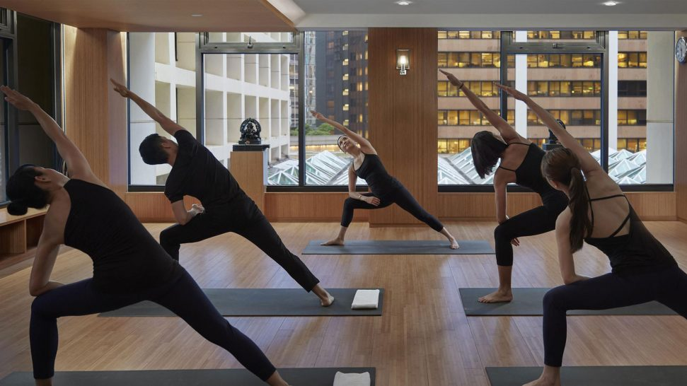 Mandarin Oriental Bangkok fitness classes