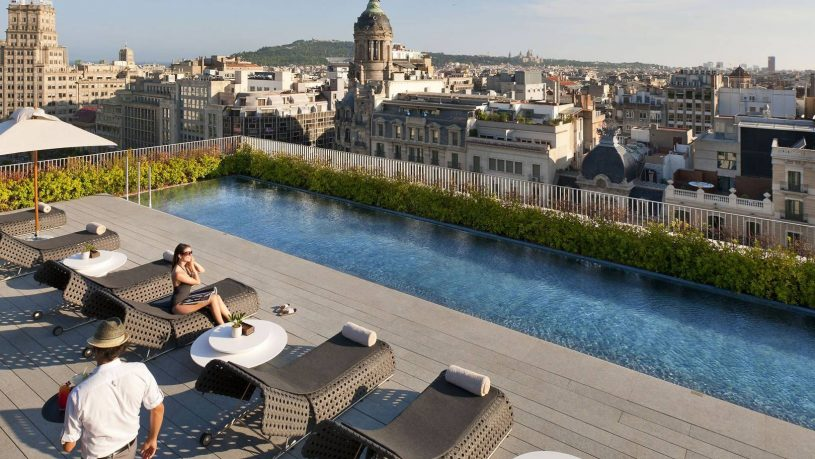 Mandarin Oriental Barcelona Pool