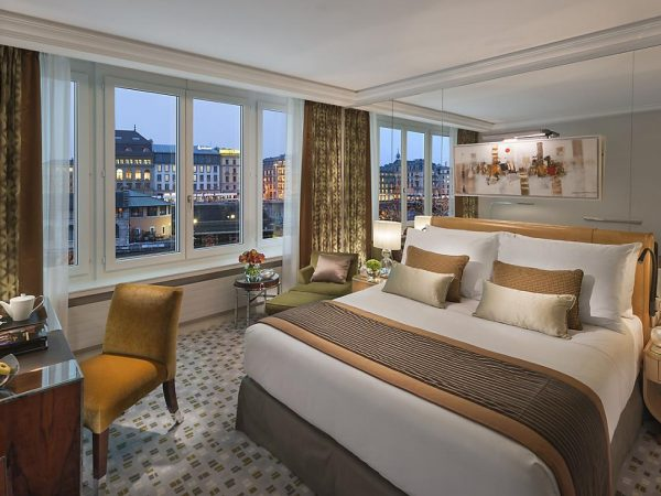 Mandarin Oriental Geneva Superior River View Room