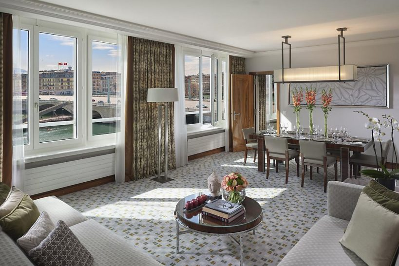 Mandarin Oriental Geneva Two Bedroom Deluxe Suite