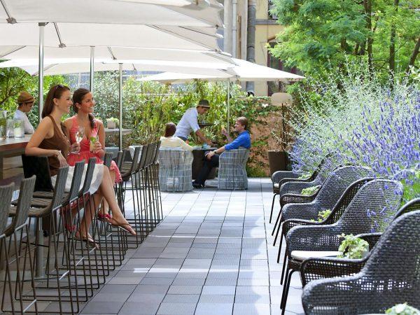 Mandarin Oriental Hotel Barcelona Mimosa Garden