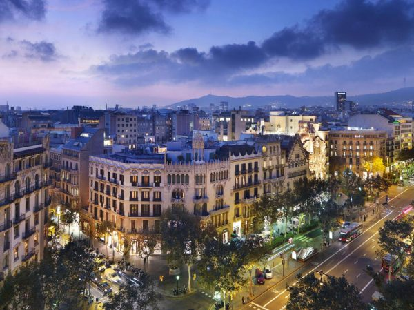 Mandarin Oriental Hotel Barcelona Views from the Rooftop