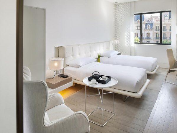 Mandarin Oriental Hotel Barcelona deluxe boulevard room