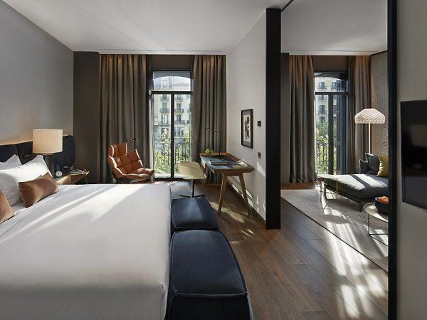 Mandarin Oriental Hotel Barcelona deluxe suite