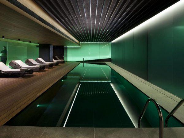 Mandarin Oriental Hotel Barcelona indoor Pool