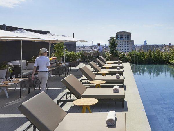 Mandarin Oriental Hotel Barcelona pool