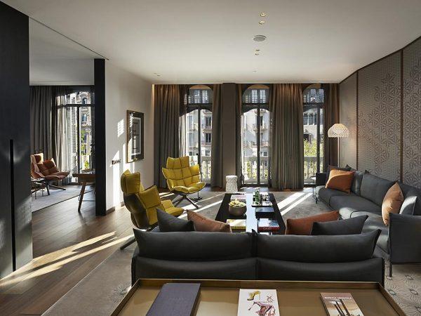 Mandarin Oriental Hotel Barcelona premier suite