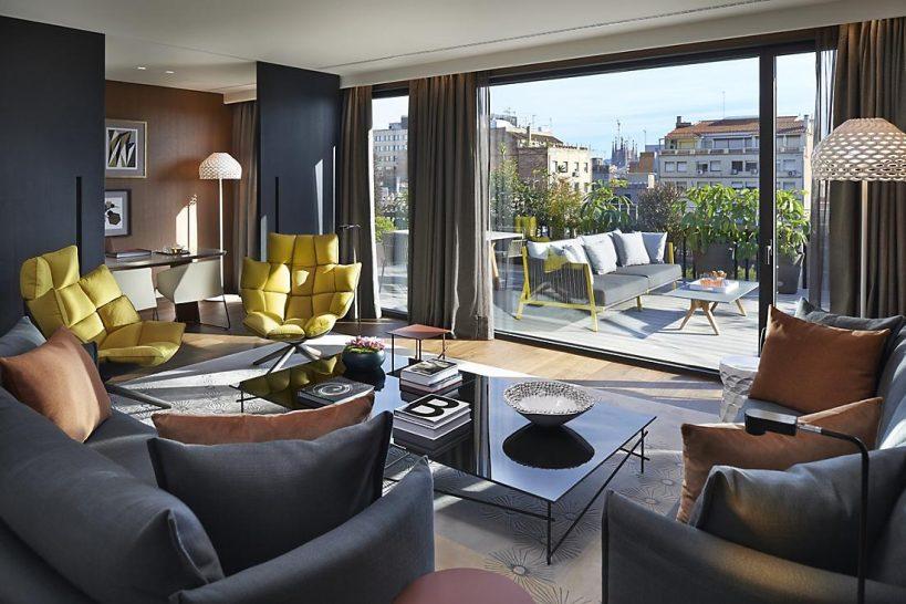 Mandarin Oriental Hotel Barcelona premier terrace suite