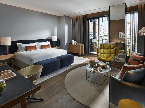 Mandarin Oriental Hotel Barcelona studio suite