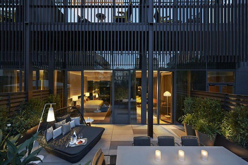 Mandarin Oriental Hotel Barcelona terrace suite