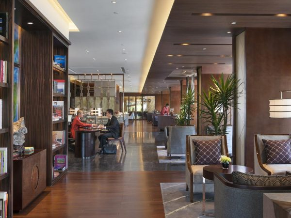 Mandarin Oriental Pudong shanghai club lounge