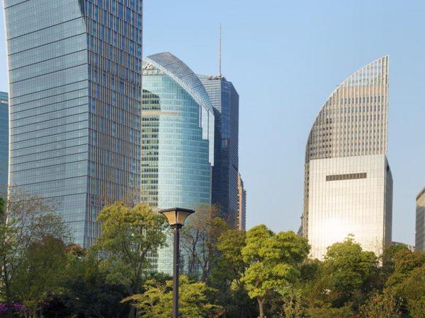 Mandarin Oriental Pudong shanghai view