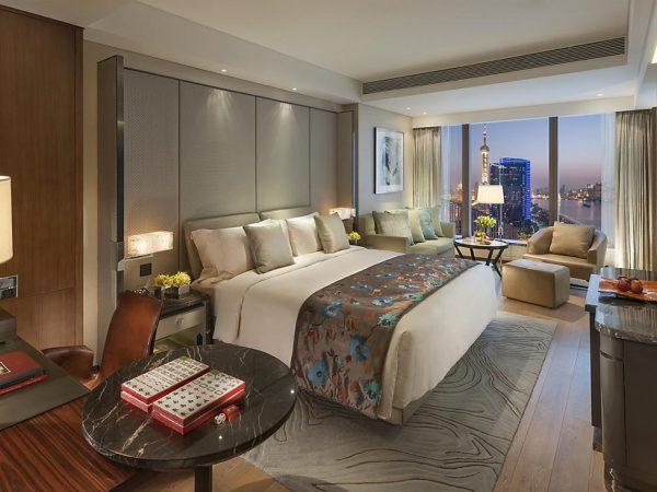 Mandarin Oriental Pudong shanghai mandarin river view room