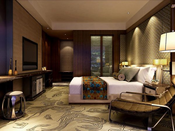 Mandarin Oriental Pudong shanghai studio apartment