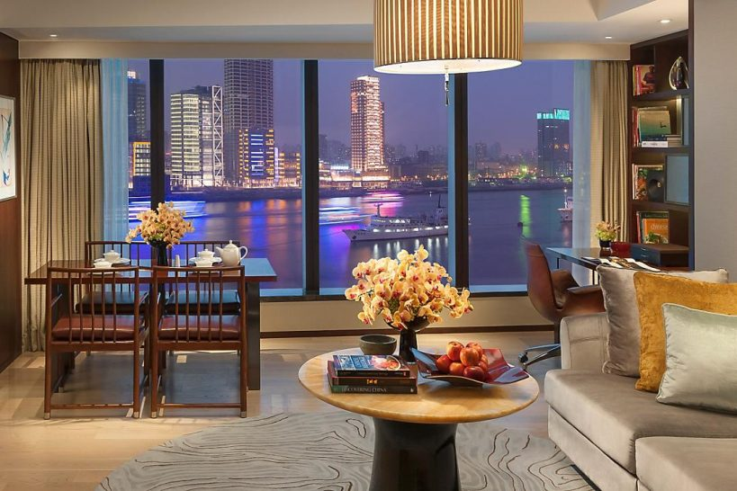 Mandarin Oriental Pudong shanghai Three bedroom apartment
