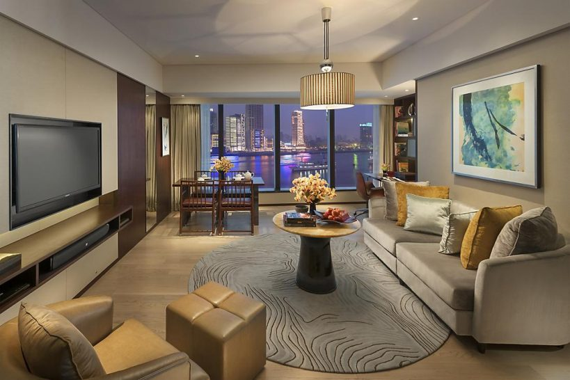 Mandarin Oriental Pudong shanghai two bedroom apartment