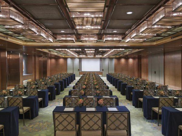 Mandarin Oriental Pudong shanghai ballroom