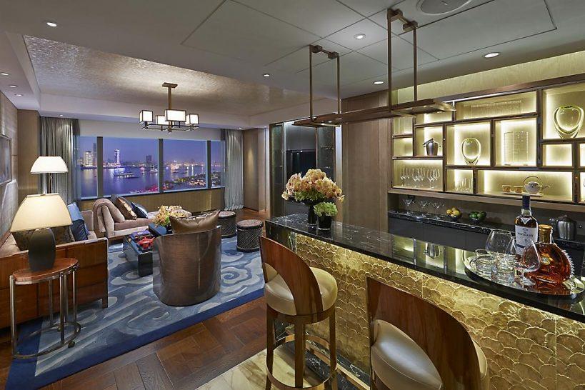 Mandarin Oriental Pudong shanghai oriental suite two bedroom