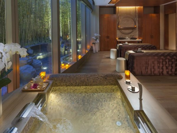 Mandarin Oriental Pudong shanghai spa double room
