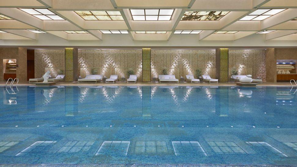 Mandarin Oriental Pudong shanghai swimming pool