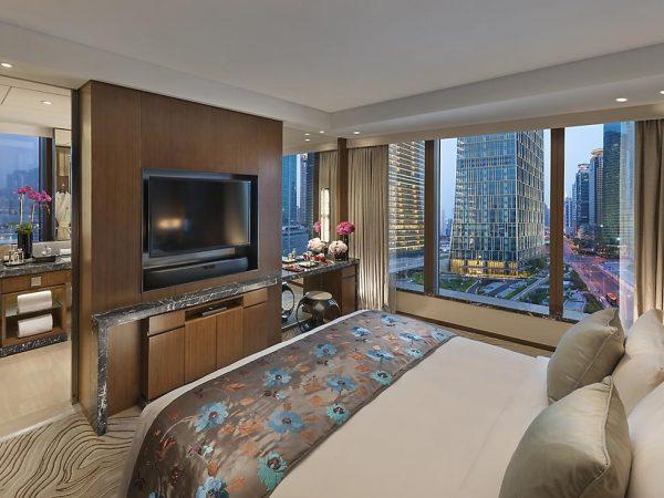 Mandarin Oriental Pudong shanghai twin star suite