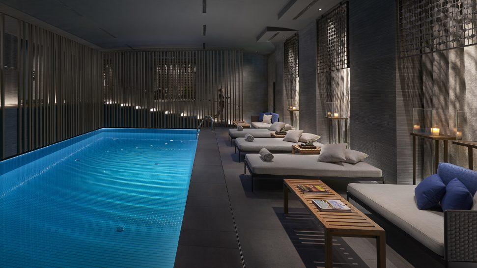 Mandarin Oriental Hotel Milan pool