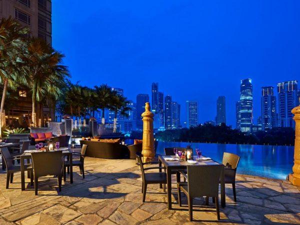 Mandarin Oriental Kuala Lumpur Lobby View