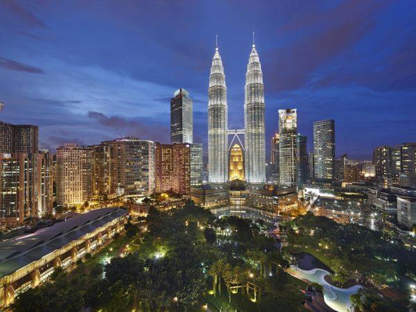 Mandarin Oriental Kuala Lumpur Top View
