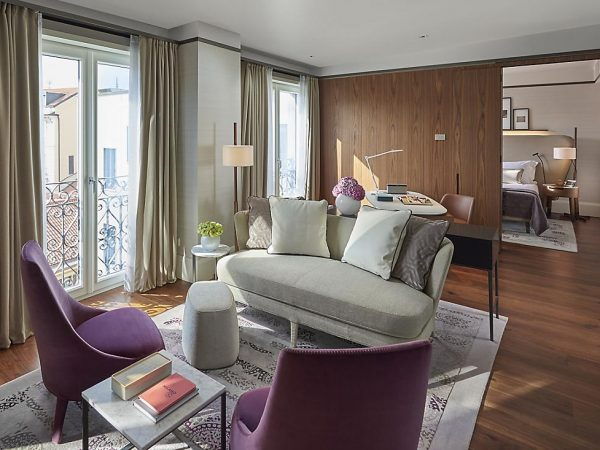 Mandarin Oriental Milan Deluxe Suite
