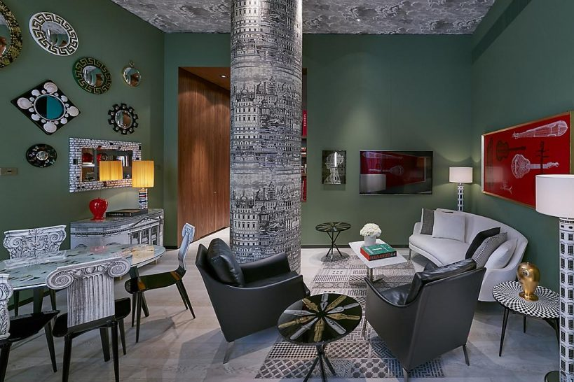 Mandarin Oriental Milan Fornasetti Suite