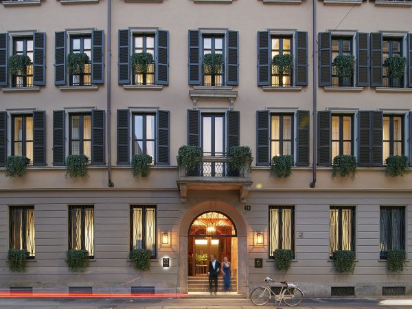 Mandarin Oriental Milan Outside View