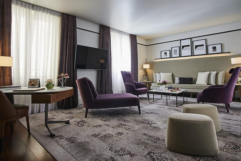 Mandarin Oriental Milan Prestige Suite One Bedroom
