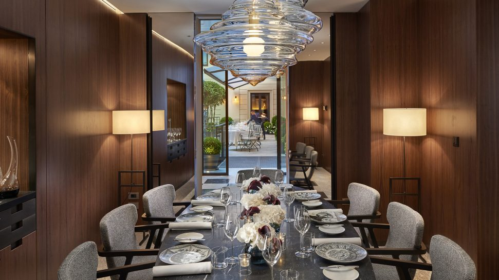 Mandarin Oriental Milan Private Dining