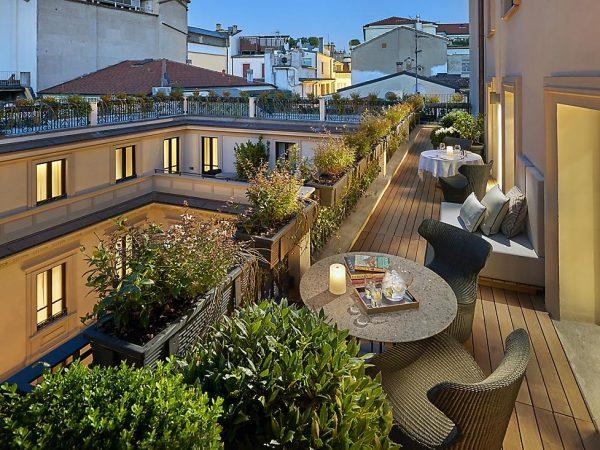 Mandarin Oriental Milan Terrace Suite