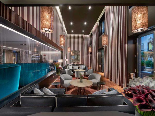 Mandarin Oriental Milano bar lounge