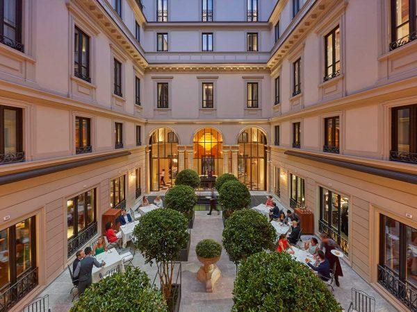 Mandarin Oriental Milano restaurant
