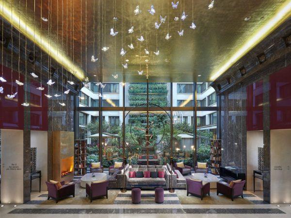 Mandarin Oriental Paris Lobby