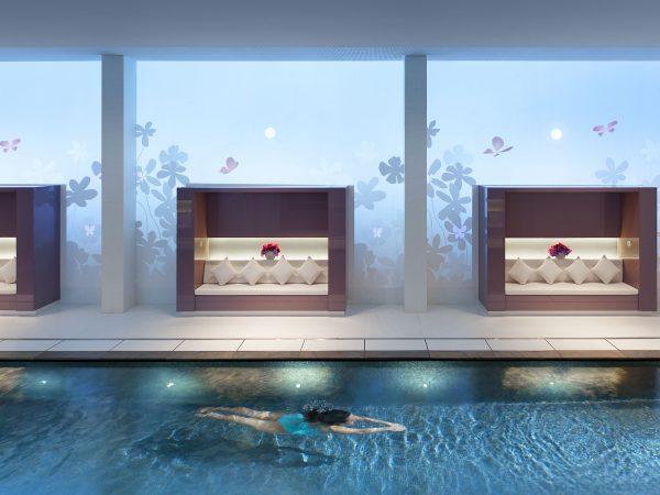 Mandarin Oriental Paris Swimming pool
