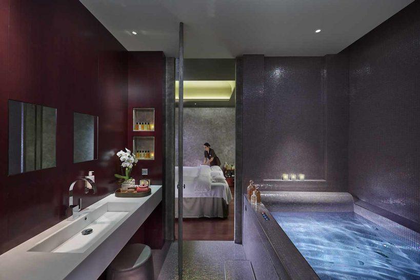 Mandarin Oriental Paris spa suite