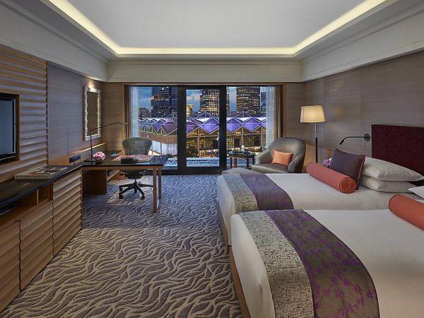 Mandarin Oriental Singapore deluxe room