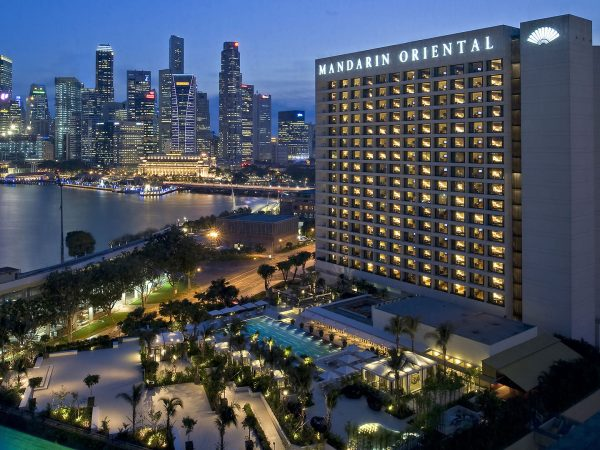 Mandarin Oriental Singapore exterior