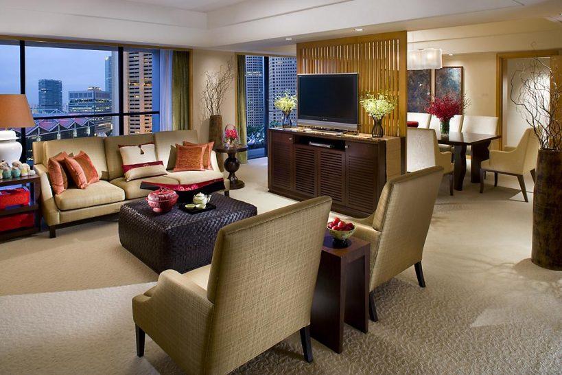Mandarin Oriental Singapore oriental suite
