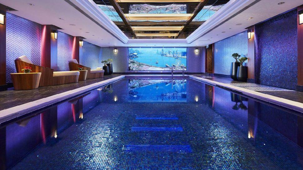 Mandarin Oriental hong kong indoor pool